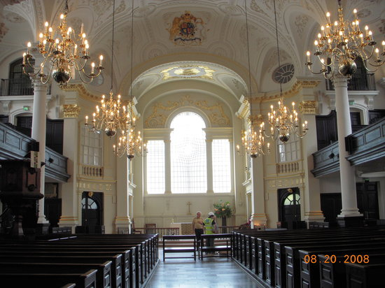 St Martin-in-the-Fields: Church interior