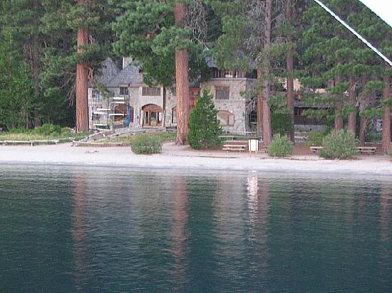 Lake Tahoe Vacation Resort: Vikensholm Castle on Emerald Bay - From the Tahoe Queen