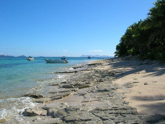 Tokoriki Island Resort: The beach & boats
