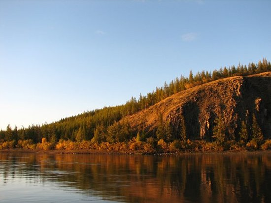 Siberian District, Rusya: the river of Yana