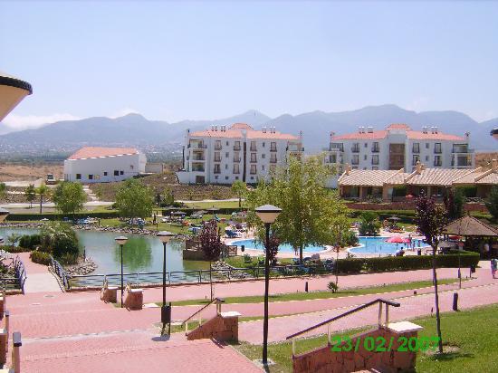 Sol Andalusi: le coin piscine, détente en contre-bas