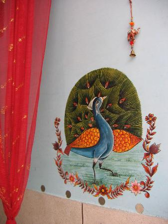 Durag Niwas Guesthouse: wall painting