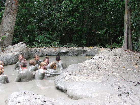 Borneo Survivor Resort: Volcanic mud pool