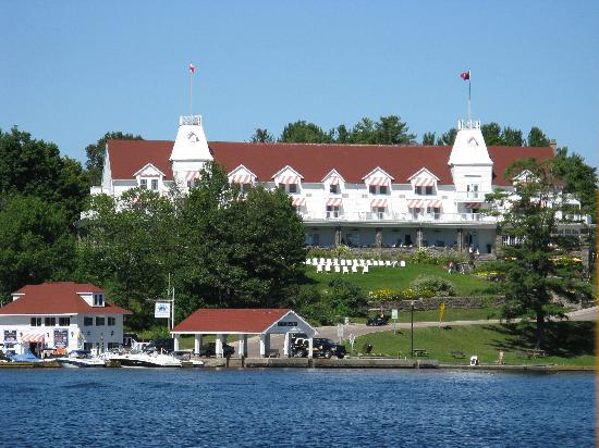Windermere House Resort Hotel View From Boat Cruise On Lake Rosseau