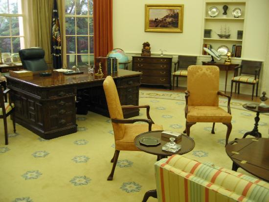 ‪‪Grand Rapids‬, ميتشجان: Ford's Oval Office‬