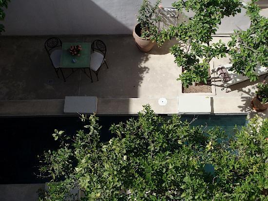 Le Rihani : la piscine