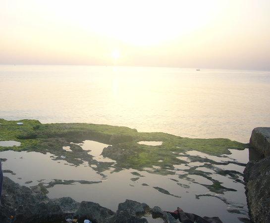 Tartus, Syrien: 沈む夕日