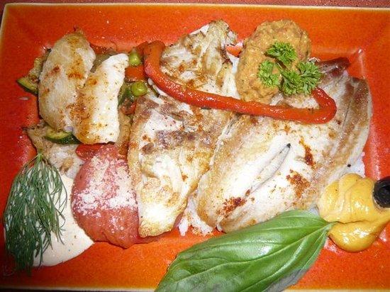 Le Poisson Rouge : l'assiette