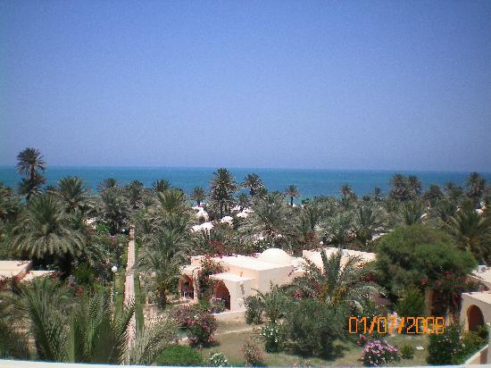 Club Oasis Marine: vue de notre chambre