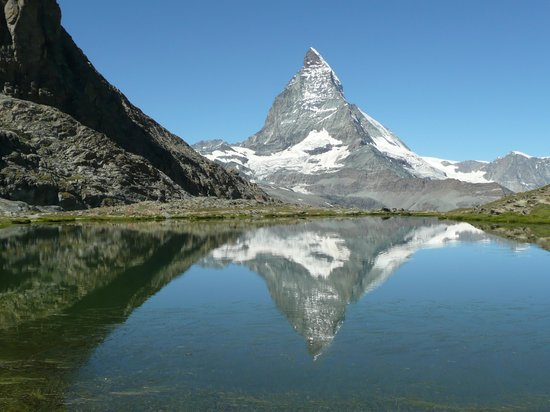 Zermatt, Switzerland: Matterhorn from Riffelsee