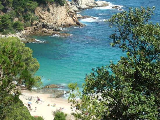 Malgrat de Mar, Hiszpania: View from coastal path.