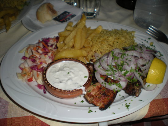 Avli Restaurant : Il piatto
