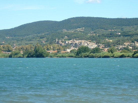 Bolsena, Italia: The Lake
