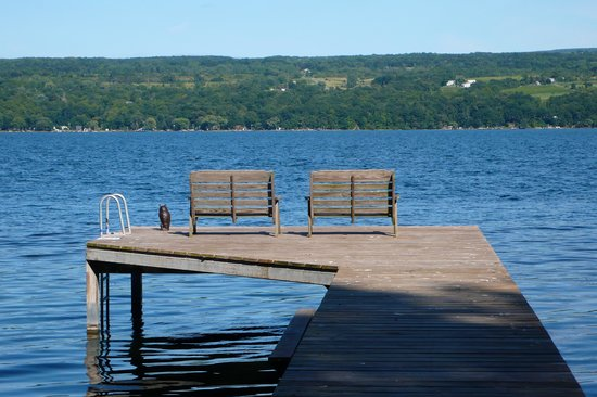 The Pearl of Seneca Lake B&B: the view
