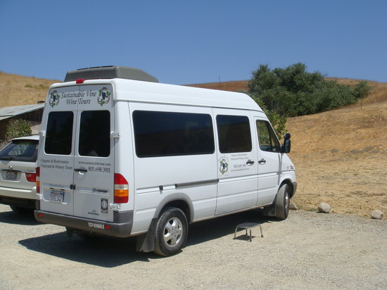 Sustainable Vine Wine Tours : Our biodiesel ride