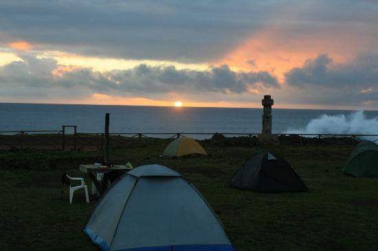 Camping Mihinoa : the perfect location