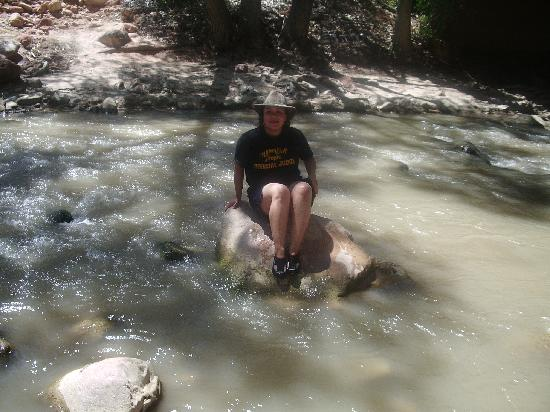 South Campground: the river was great