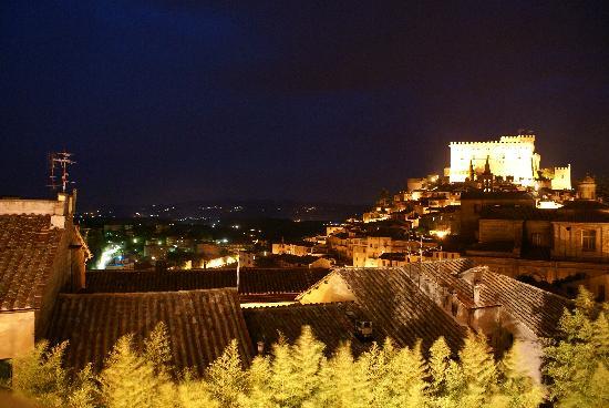 Palazzo Catalani by Diamond Resorts : The view at night!  Unmatched.