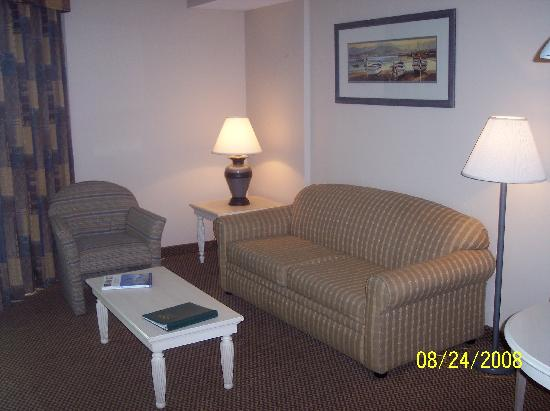 Harbourgate Resort & Marina, Oceana Resorts: Living Room Area