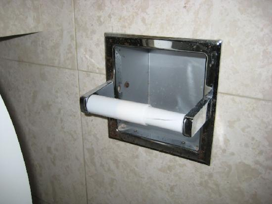Newport Beachside Hotel and Resort : How much does it cost to get a new toilet paper holder?