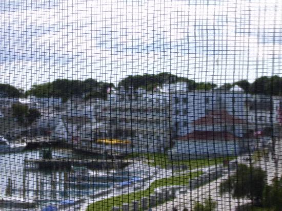Island House Hotel: view from window