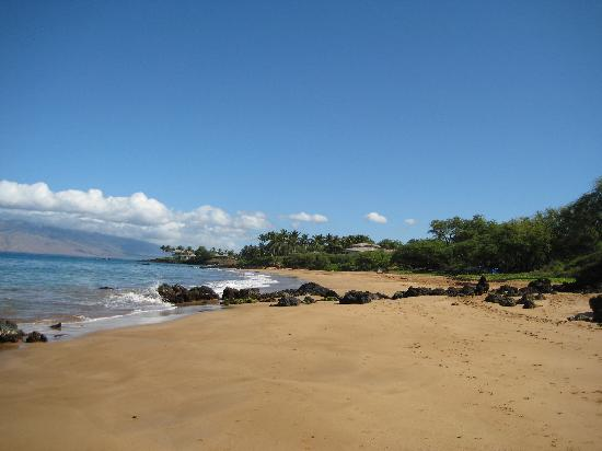 Maui, HI: Po'olenalena, had the beach almost to ourselves. Who needs the crowds?