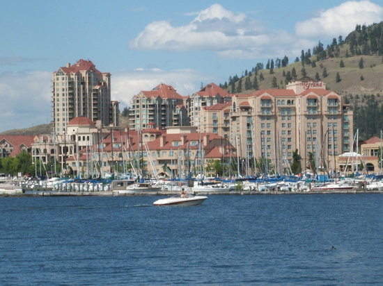 Kelowna, Canada: view from lake