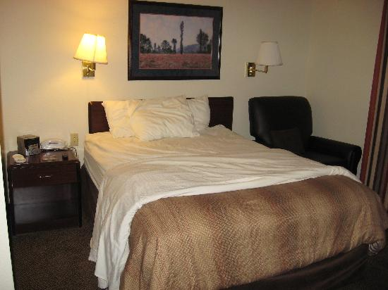 Candlewood Suites North Orange County: Clean, comfortable beds
