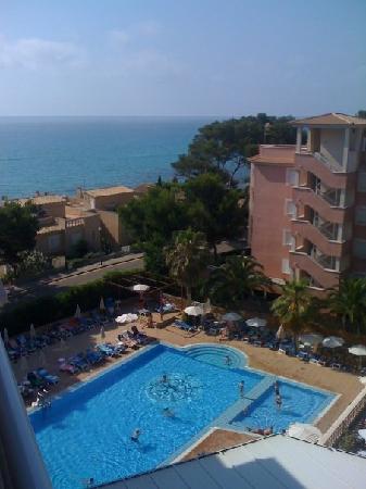 Canyamel, Spanien: Vue depuis la chambre