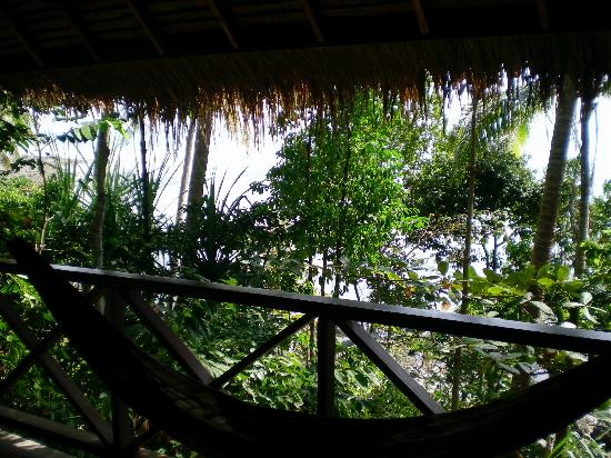 Narima Bungalow Resort: View from bungalow porch