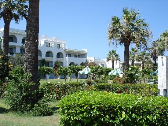 Hasdrubal Thalassa Hotel & Spa Port El Kantaoui: Vue jardin