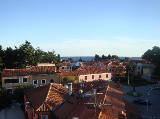 Hotel Villa Cittar: View from roof terrace