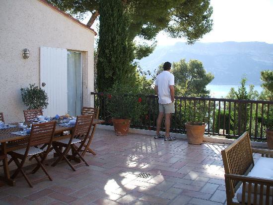 Breakfast terrace, The Dorn