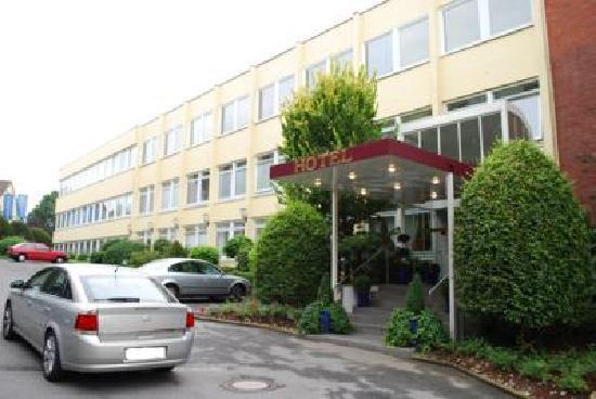 Wedel, Jerman: Eingang Hotel