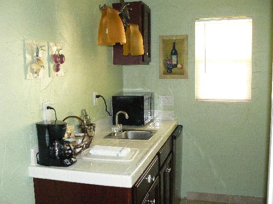 Old Ranch Inn : kitchenette
