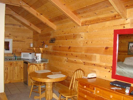 Cowboy Homestead Cabins: Inside Living Space