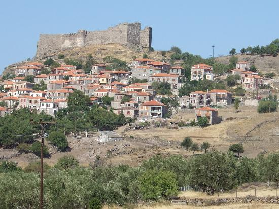 Molyvos town and castle