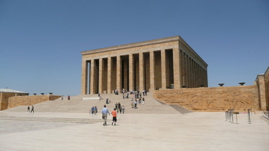 The Masoleum Of The Founder Of Modern Turkey Ataturk Review