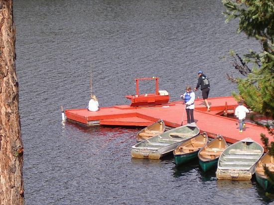 Idabel Lake Resort: A morning of fishing