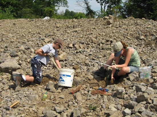 Herkimer Diamond Mines : The kids