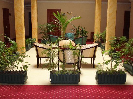 Hotel Venus: Aménagement dans le hall accès aux chambres