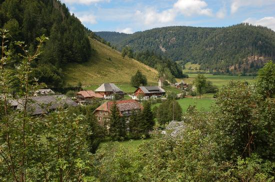 Gastehaus Grunenberg: The Grunenberg from afar