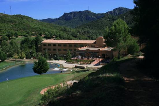 Figuerola Resort and Spa: Back view