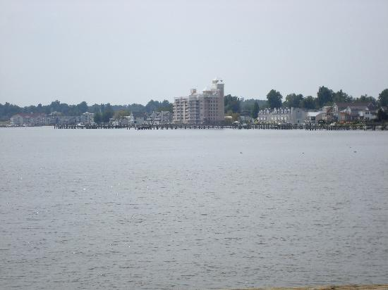 The Inn at Herrington Harbour: View from the boardwalk at North Beach, MD