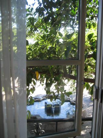 El Cordova Hotel: View from room #14