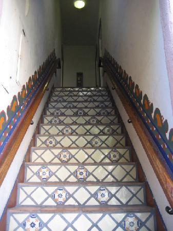 El Cordova Hotel: El Cordova stairs up to rooms #13-15