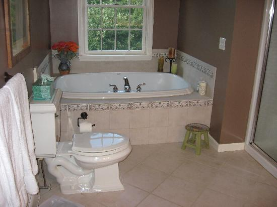 Collins Guest House: Big luxurious soaking tub!
