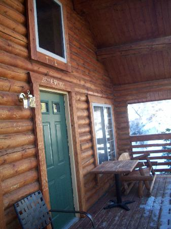 Mt. Charleston Lodge: Balcony cabin #16