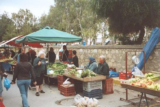 Market on Saturday, Ierapetra