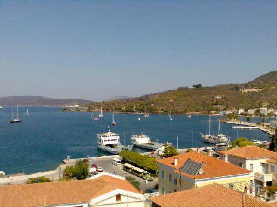 Dimitra Boutique Hotel : Looking towards Nerion
